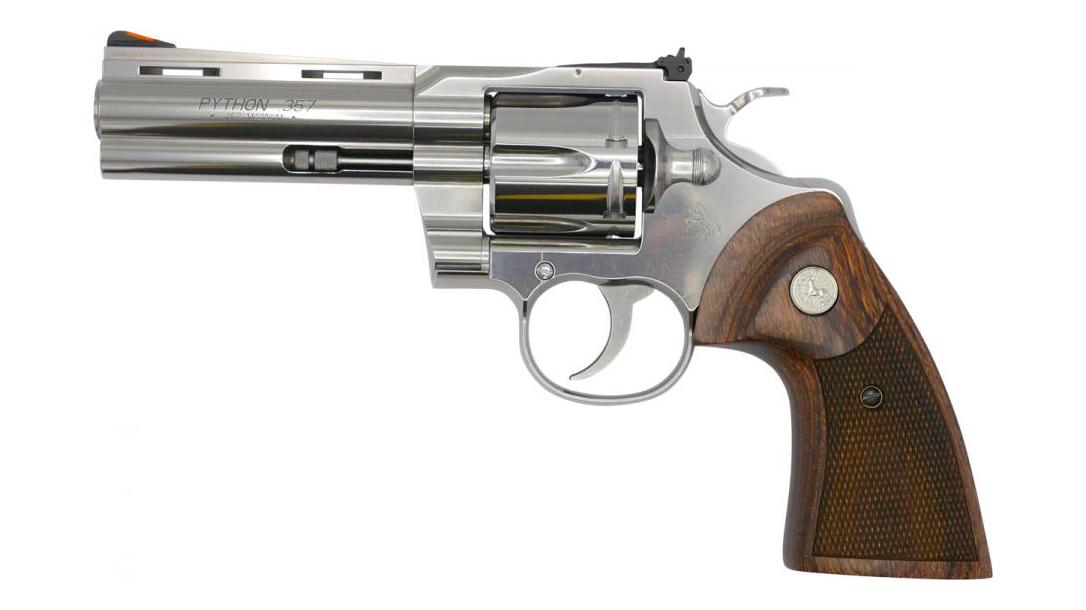 4.25 inch barrel, revolver, snake gun, .357 Magnum