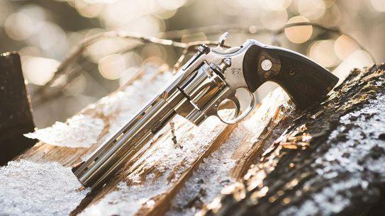 Colt Python revolver, .357 Magnum, lead, updated