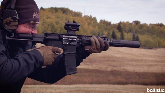 Daniel Defense DDM4 PDW, Daniel Defense 300 BLK pistol, range