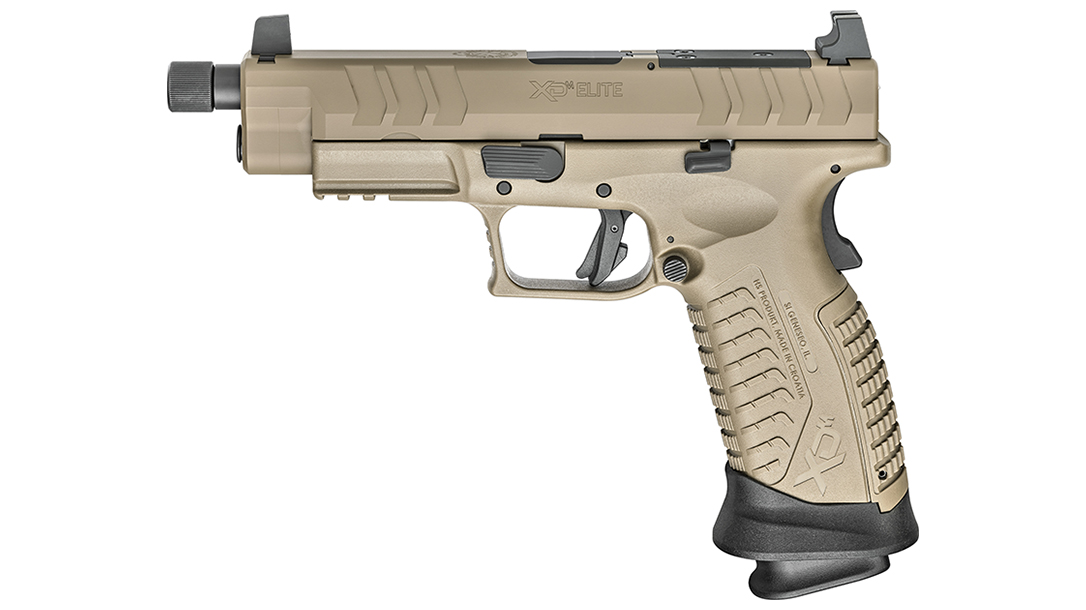 xd(m) Tactical OSP pistol with 20+1 capacity