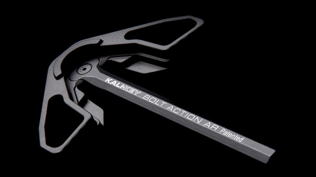 Kali Key bolt-action AR, Kali Key Charging Handle, lead