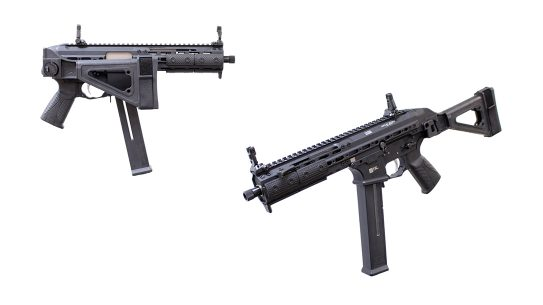 LWRC SMG 45 pistol review, LWRCI SMG-45, lead