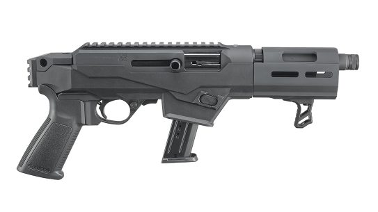 Ruger PC Charger Takedown Pistol, 9mm Ruger Pistol, right