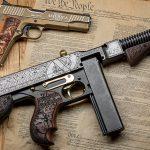 Custom Auto-Ordnance Trump Tommy Gun, Outlaw Ordnance, pistol