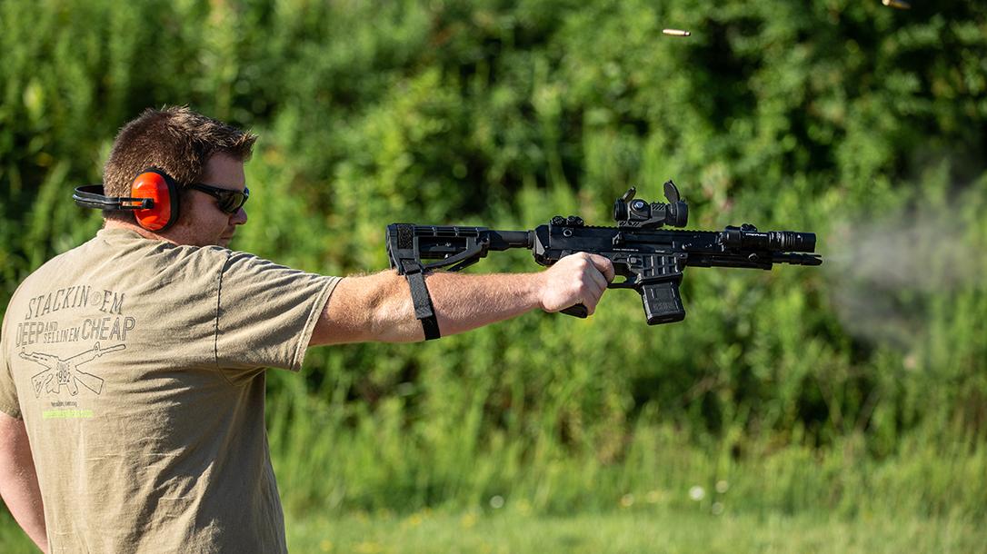CZ Bren 2 Ms Pistol review, brace