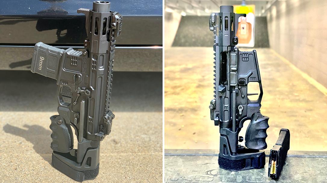 Breacher's Custom AR9, Breacher's Custom Lil Nina, AR Pistol, dual