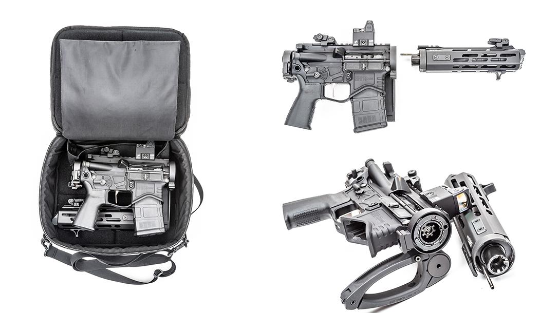 Springfield EVAC, Springfield Armory SAINT Edge EVAC Takedown AR Pistol Review, lead