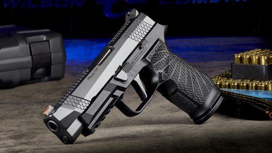 Wilson Combat WCP320, SIG P320, Wilson Combat P320 pistol, black, left