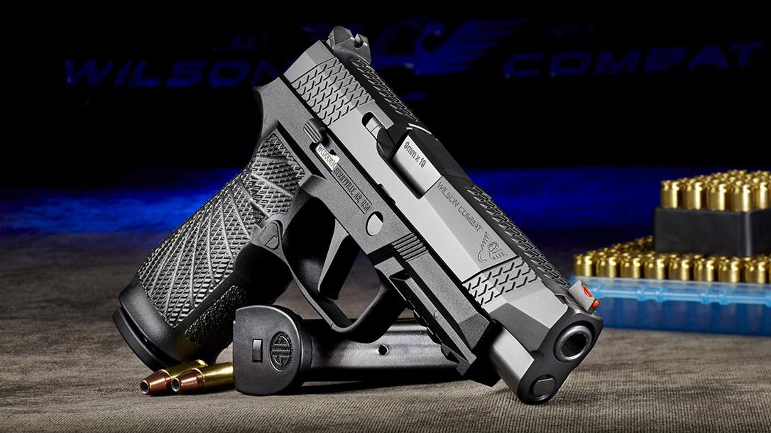 Wilson Combat SIG pistol collaboration, black, right