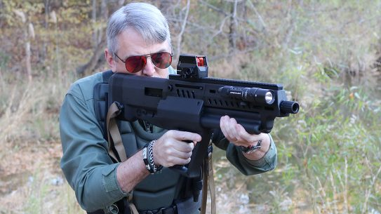 IWI Tavor TS12 Review, Bullpup Shotgun, lead
