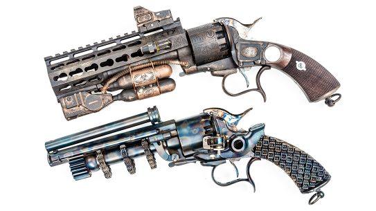 Custom LeMat Revolver, EMF Company, Pietta Revolver
