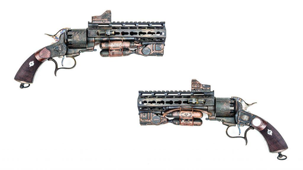 Outlaw Ordnance Custom LeMat RevolverOdin's Workshop Custom LeMat Revolver