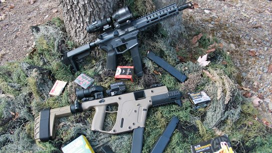 Kriss Vector SDP SB Enhanced 10mm, CMMG Banshee 300 10mm
