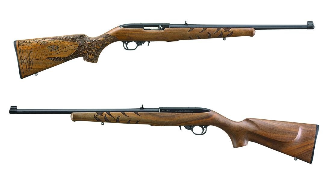 Shark Rifle, wooden stock