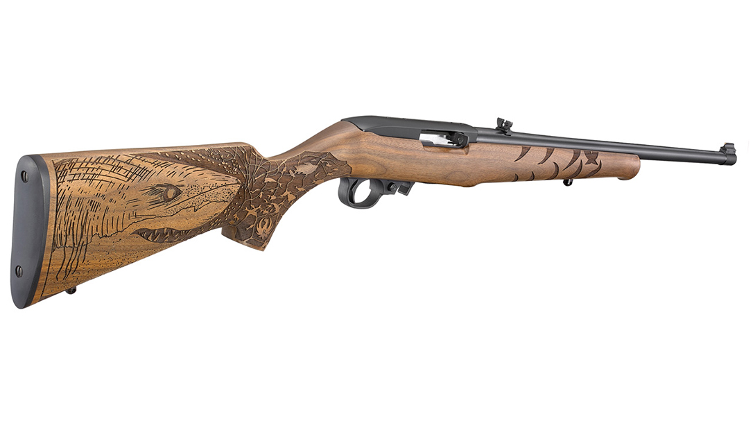 Ruger 10/22 Great White Shark Rifle, lead