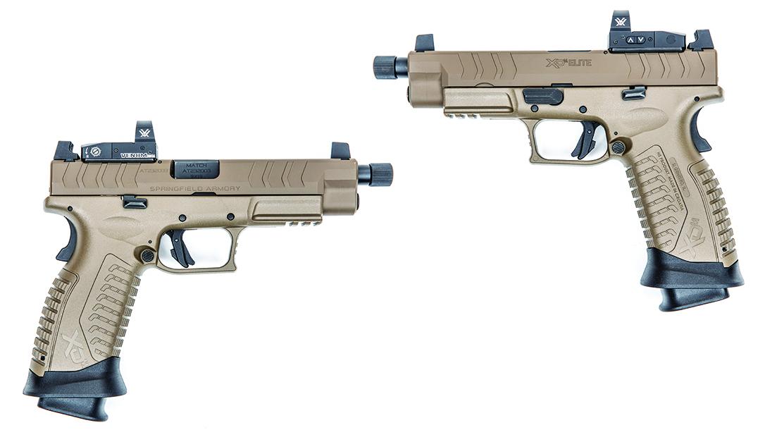 Springfield Armory big 9mm Pistol, duo