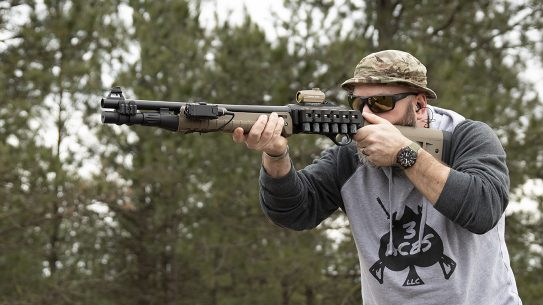 Beretta 1301 Tactical Shotgun review, accessories, lead