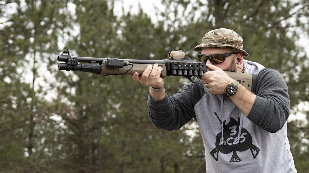 Beretta 1301 Tactical Shotgun review, accessories, lead