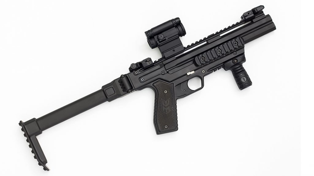 Detonics Carbine Shotgun, Micro Combat Double Barrel Shotgun, right