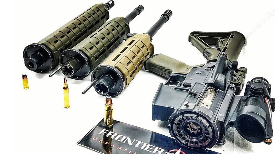 Frontier Tactical War Lock, Multi-Caliber System