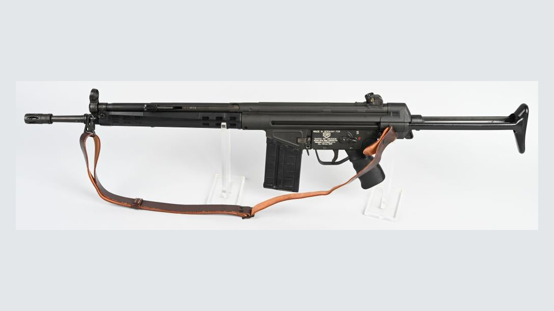 Heckler & Koch HK41 Rifle, left