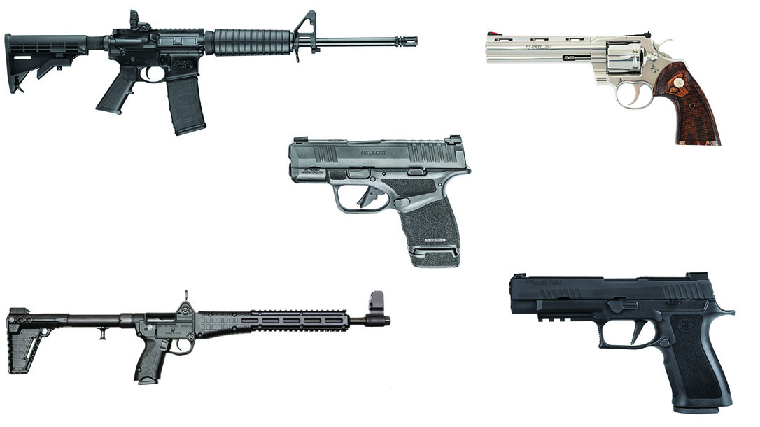 Highest-Selling Guns in 2020, 2020 gun sales