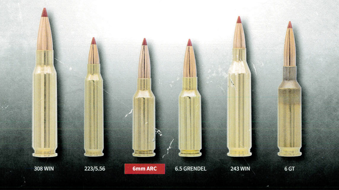 advanced rifle cartridge, AR-15 cartridge, comparison