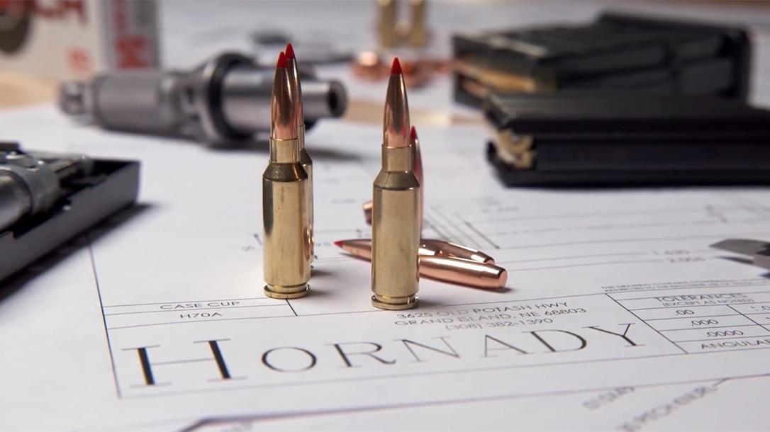 Hornady 6mm ARC advanced rifle cartridge, AR-15 cartridge