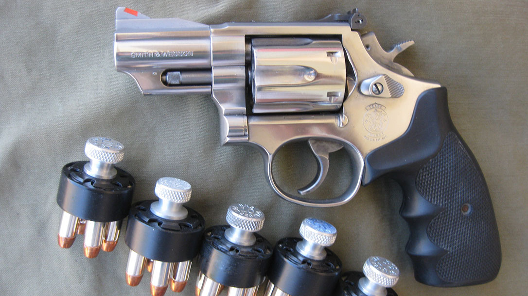 Smith & Wesson Model 66 revolver, Bug out