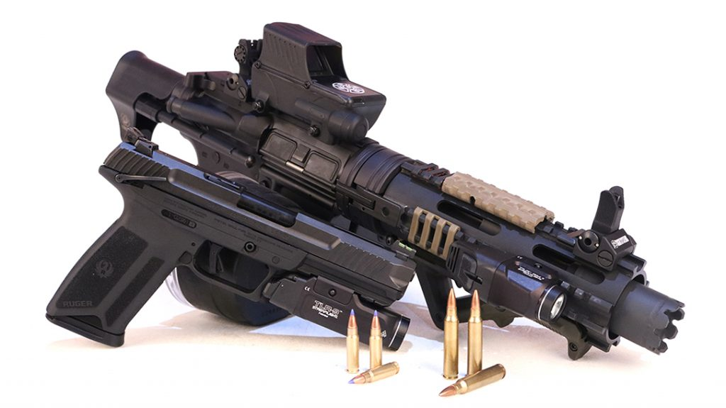 Survival Weapons, Ruger-57, Cry Havoc Tactical Homemade SBR