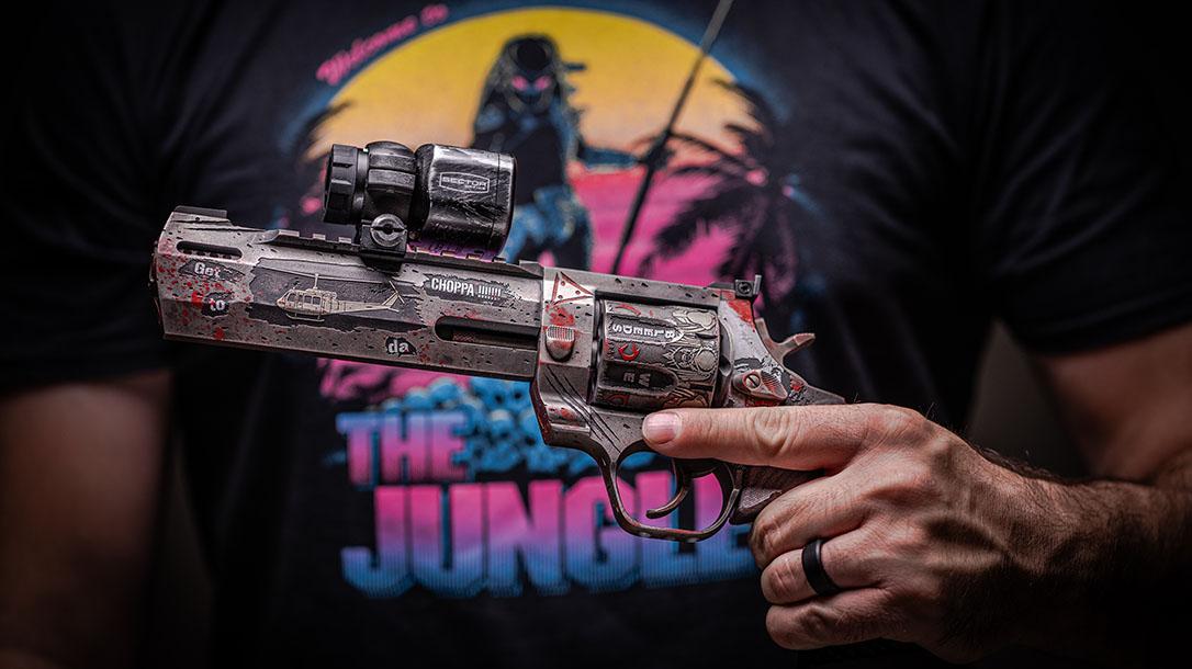 Taurus Raging Hunter 357 Magnum, Predator themed, lead
