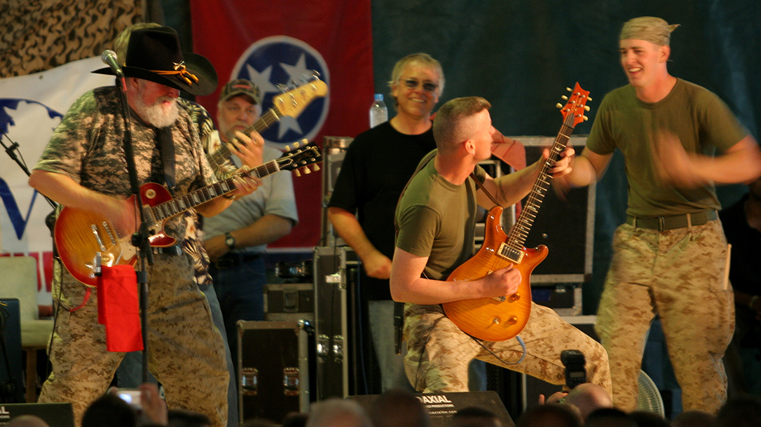 Marine Corps, concert, country music