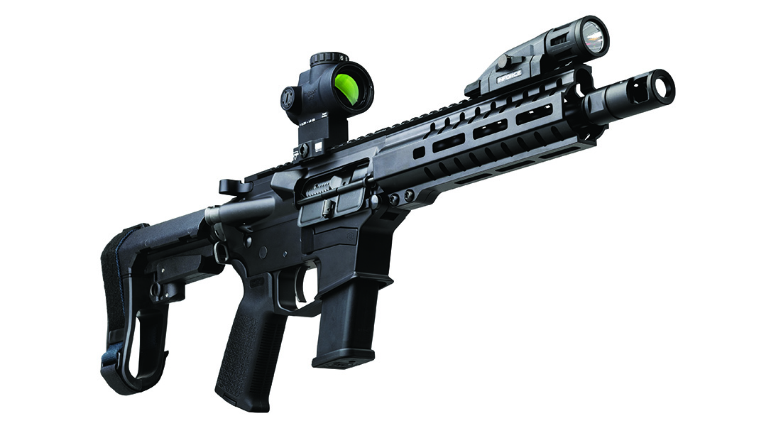 200 Series .45 ACP MkG, brached pistol