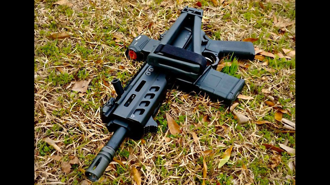 Palmetto State Armory .300 Blackout Truck Gun, Brace, Folded, ar pisol