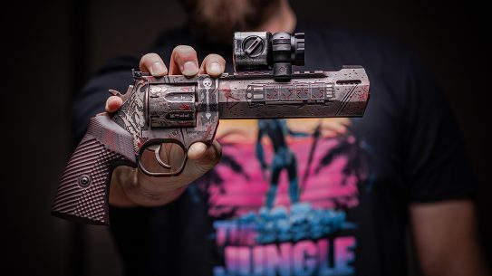Taurus Raging Hunter 357 Magnum, Predator themed, reup