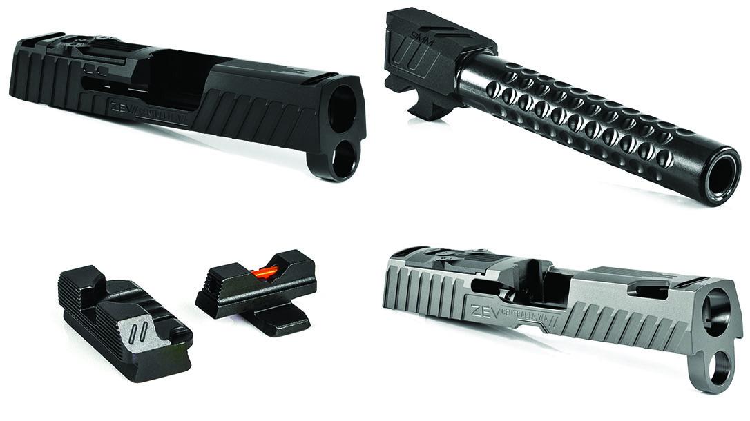 ZEV SIG Sauer P320 P365 Upgrades, Slides, ZEV Z320 slides, ZEV Z365 Slides