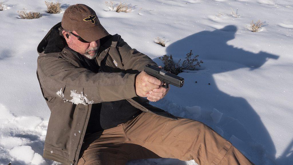 Glock 20 Gen 4 10mm Pistol review, G20, field