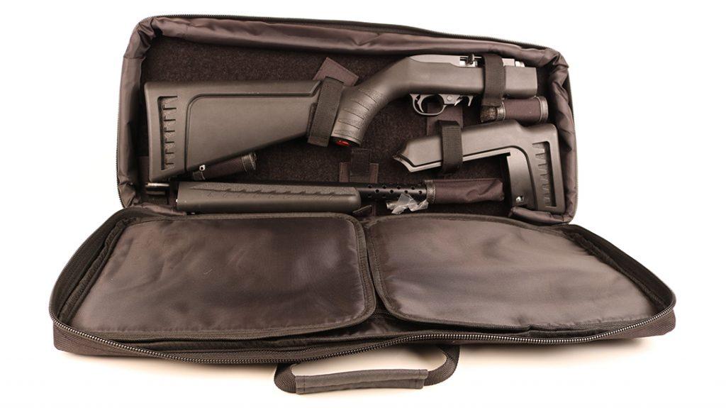 rifle bag, bugout rifle, .22 LR Rifle