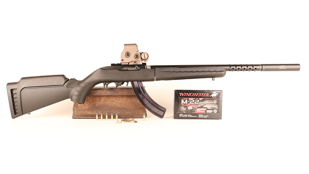 Ruger 10/22 Takedown Lite review, lead