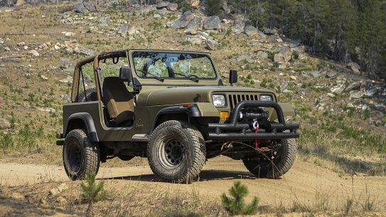 1994 Jeep Wrangler YJ rebuild, DIY, mountain