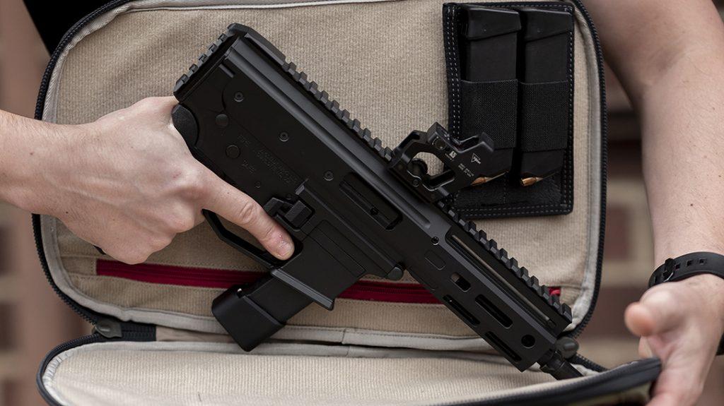 Angstadt Arms MDP-9 Pistol, 9mm, AR9, bag