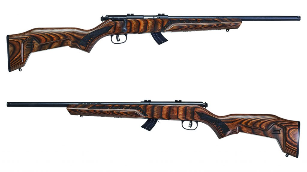 Savage Minimalist Mark II review, 22 LR Rifle, dual