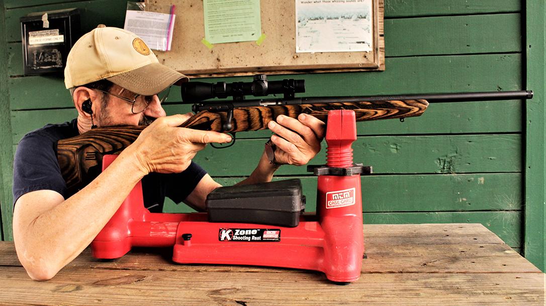 Savage Minimalist Mark II review, 22 LR Rifle, range test