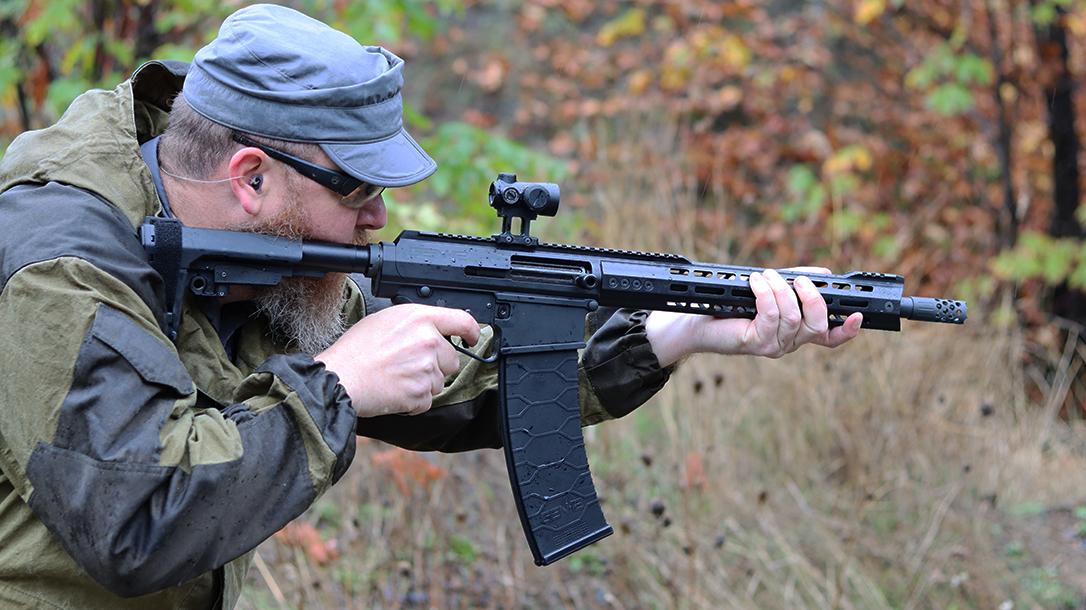 Genesis Arms Gen-12 upper, AR Shotgun review, lead