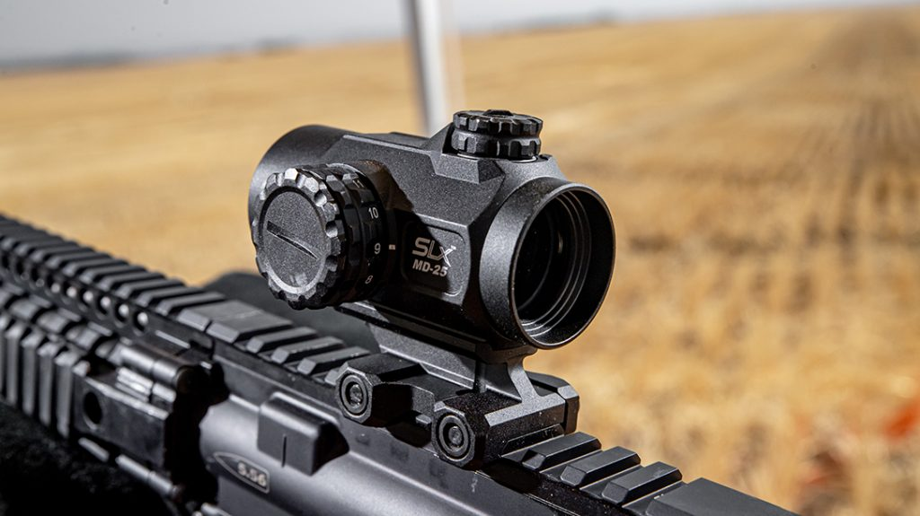 Primary Arms SLx MD-25 red dot review, range