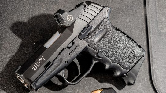SCCY CPX-2 pistol review, left