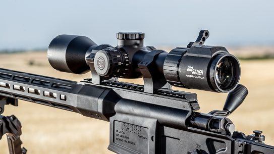 SIG SIERRA6BDX rifle scope, SIG Sauer SIERRA6 BDX, review, lead
