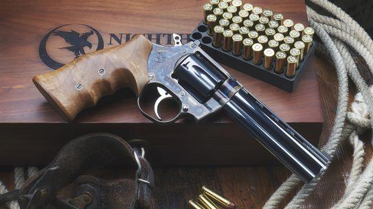Nighthawk Korth Heritage Revolver, 357 magnum, left