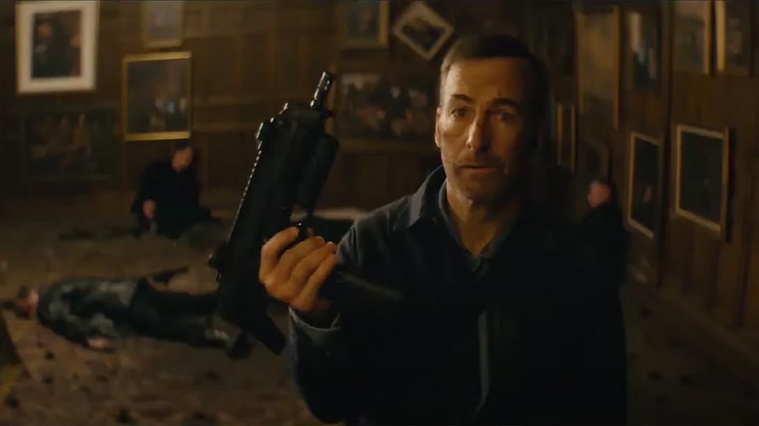 Nobody Trailer, Bob Odenkirk, guns