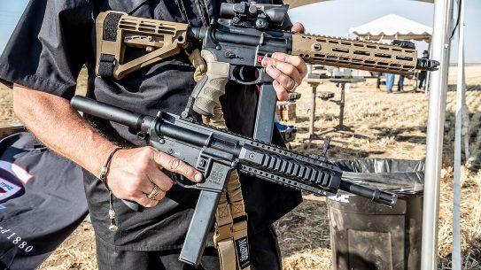 SAR 109T, SAR USA 109T AR Pistol, AR-9, range